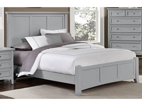 Bonanza Collection Gray Panel Bed