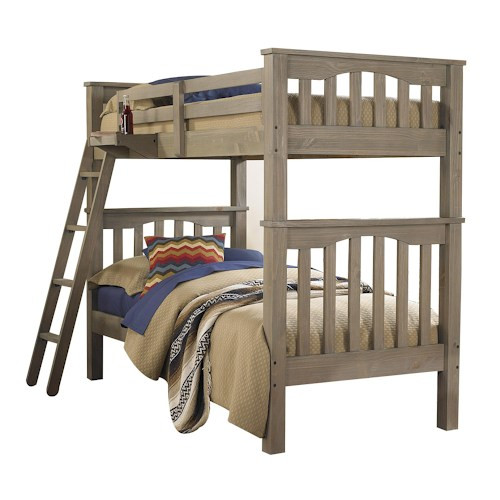 Highlands Driftwood Bunk Bed Twin/Twin