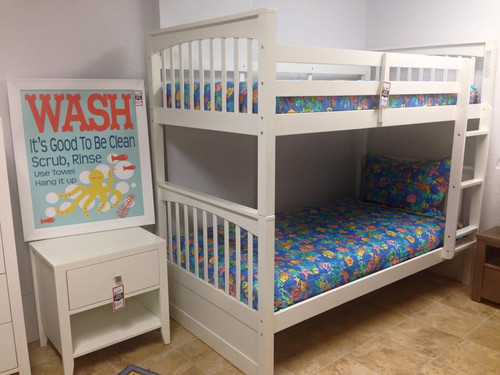 Pulse Collection Bunk Bed Twin/Twin