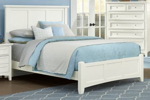 White Queen Bed Panel
