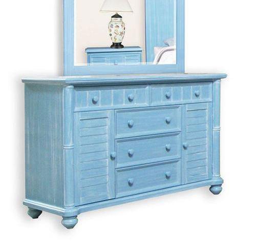 Beachfront Ocean Blue Dresser