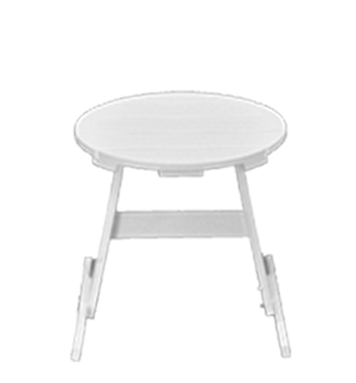 "CAR_ _46-18RST 18"" Round Side Table"