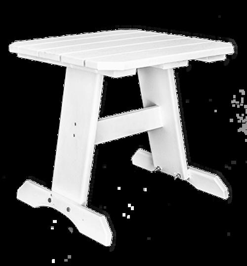 """CAR_ _31-19 ET 19"""" Square End Table"""