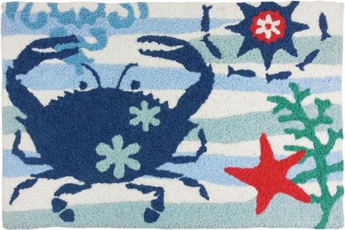Blue Crab & Starfish 2' x 3'