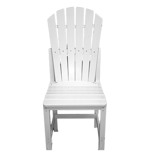 CAR_ _20-CDCA Curved Armless Dining Chair