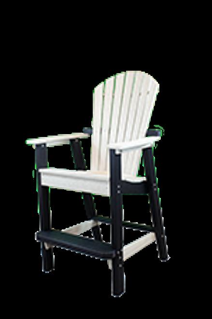 CAR_ _17XL Extra Large Curved Adirondack Bar Chair