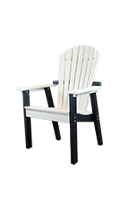 CAR_ _16XL Extra Large Curved Adirondack Dining Chair