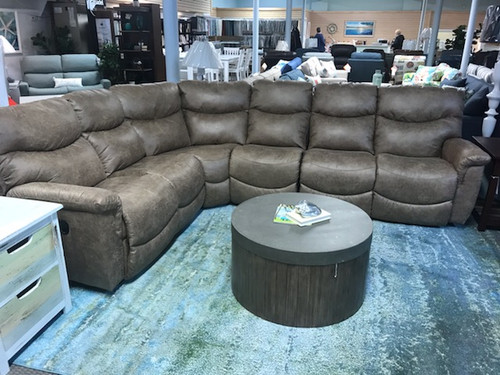 James Reclining Sectional