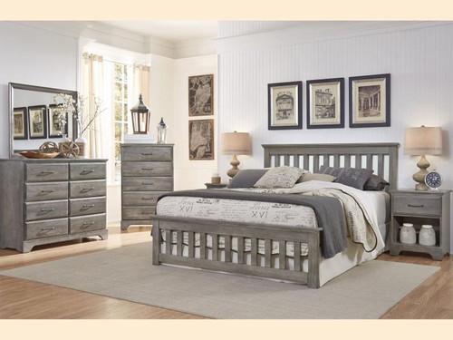Vintage Grey Double Dresser - Manteo Furniture & Appliance