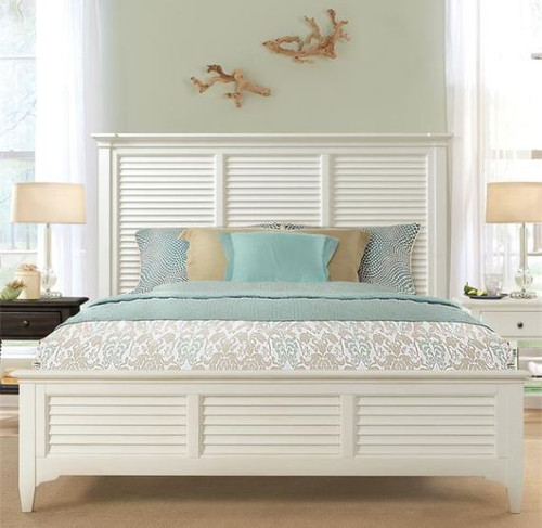 Myra - Louver Panel Bed