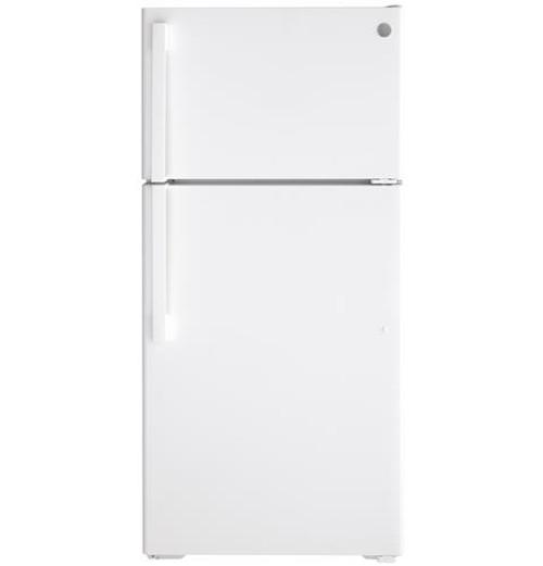 GE® 15.6 Cu. Ft. Top-Freezer Refrigerator - GTS16DTNRWW
