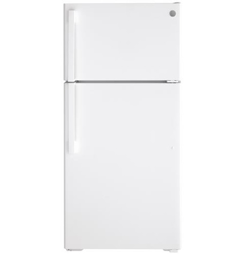 GE® 15.6 Cu. Ft. Top-Freezer Refrigerator - GTS16DTNRWW