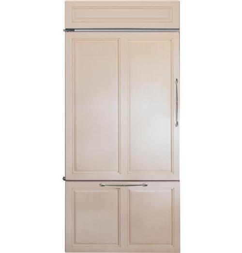 "Monogram 36"" Built-In Bottom-Freezer Refrigerator ZIC360NHLH"