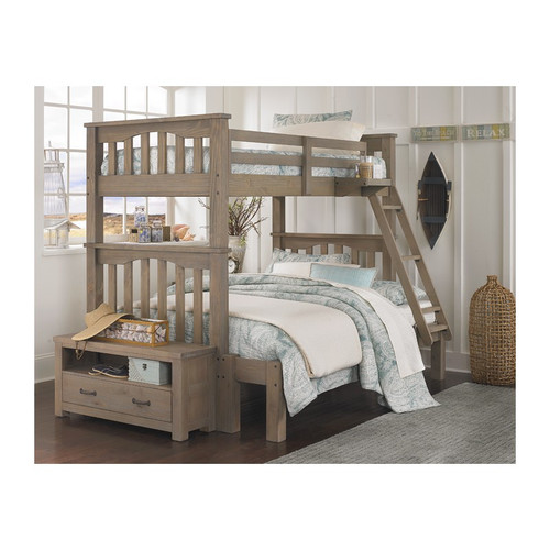 Highlands Driftwood Bunk Bed Twin/Full