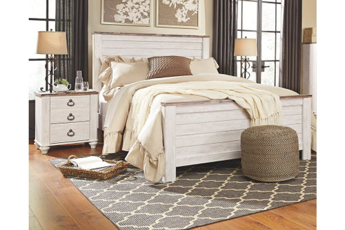 Willowton Panel Bed