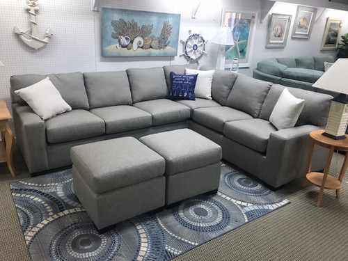 5060/503 Sectional with Queen Sleeper! Revolution Fabric