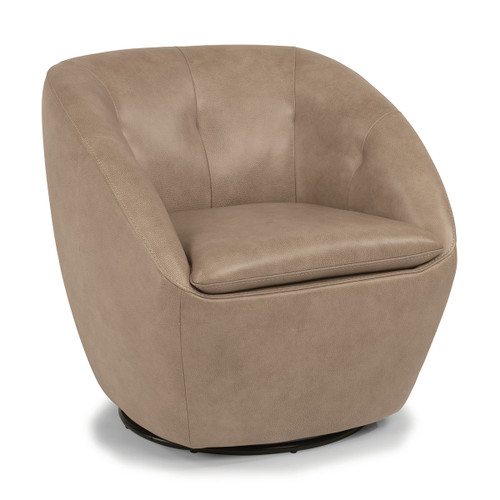 Wade Swivel Chair - Leather