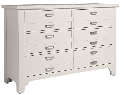 744 Bungalow Lattice White Dresser