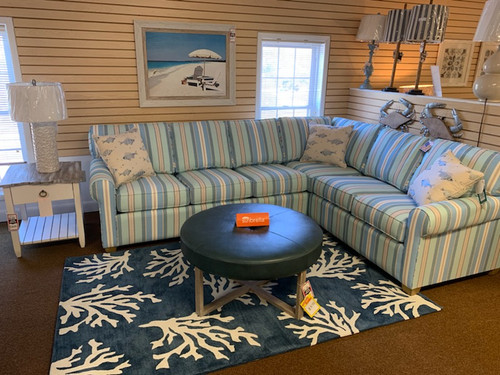 4030 Striking Seaside Sunbrella Sectional