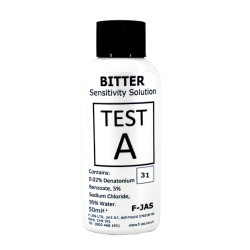 Bitter Sensitivity Solution for PPE 50ml