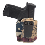 Inside-the-Waistband Holster Back Image - We the People Print
