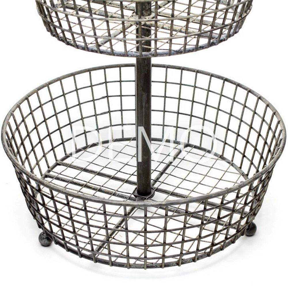 [Sample] Tiered Wire Basket