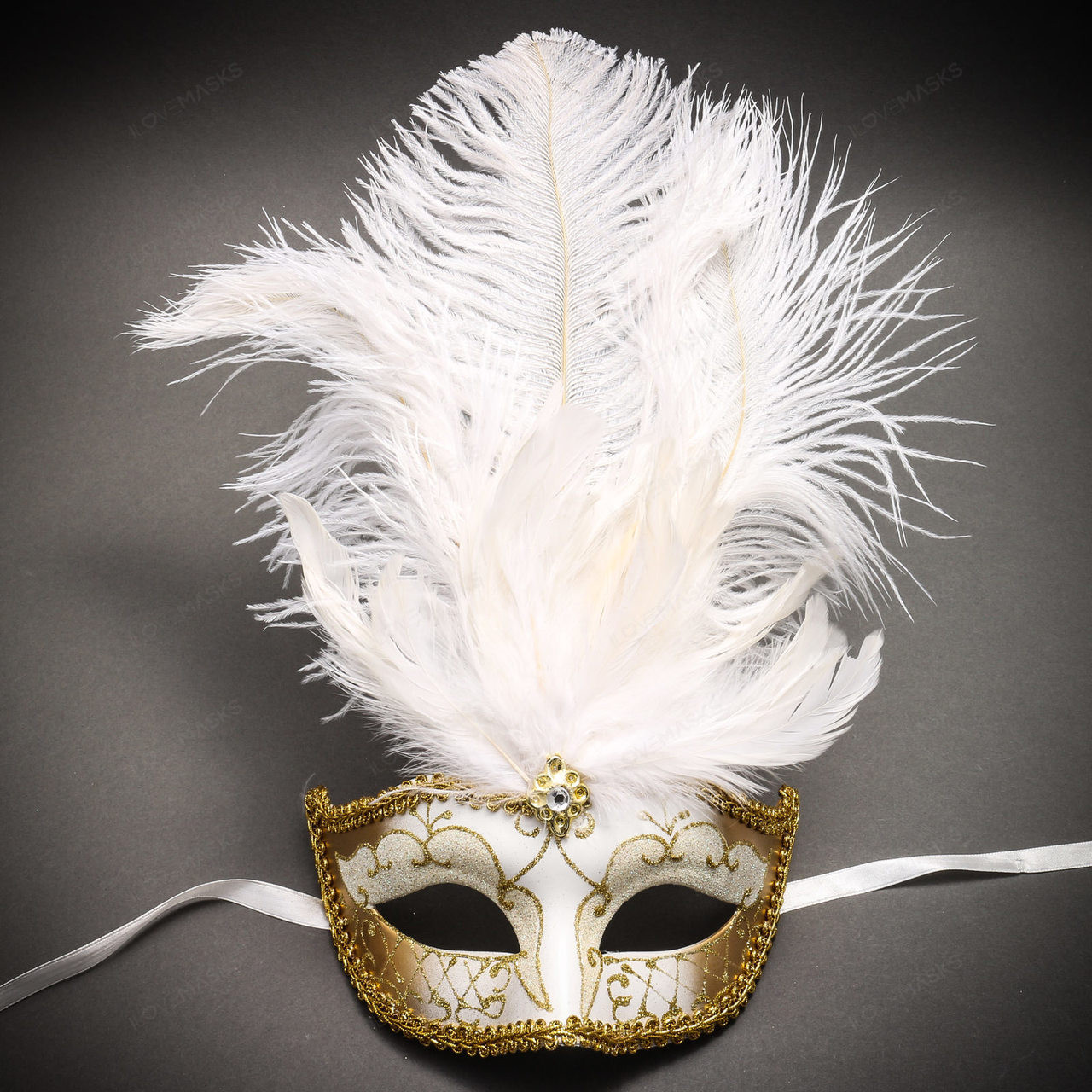 Mask for Women White Gold Masquerade Mask Luxury Women Mask Luxury Venetian Mask Party Event Masks Couple Mask Wedding Masquerade Mask