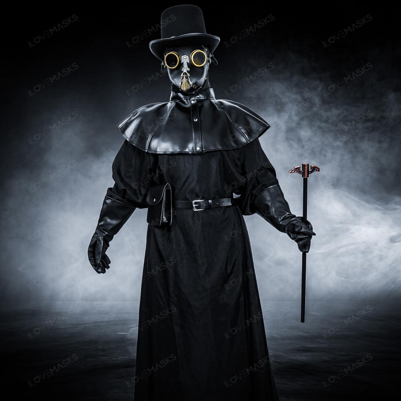 plague doctor mask set