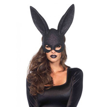 Rabbit Mask - Black - Image 1