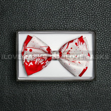 Bow Tie - Bloody / White