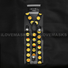 Suspenders - Emoji / Black