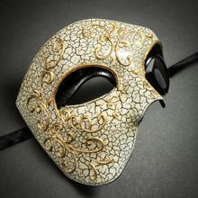 Phantom of the Opera' Venetian Masquerade Mask-Black
