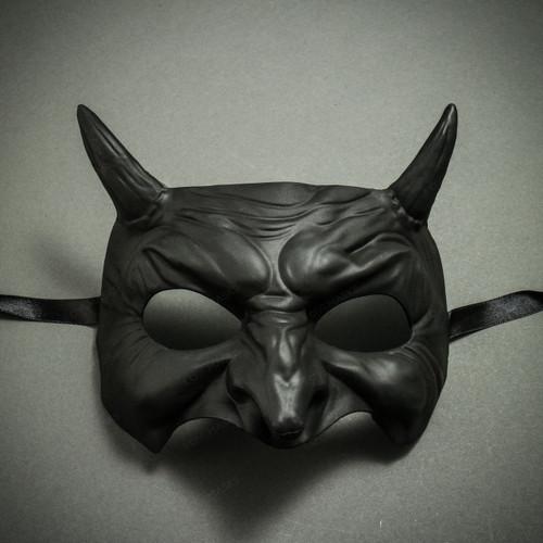 Goblin Devil Eye Mask - Black