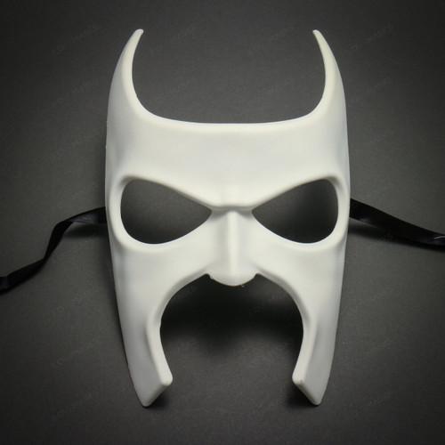 Batman Halloween Masquerade Full Face Mask - White