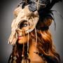 Antelope Devil Horns Animal Skull Ghost Skull Masquerade Mask