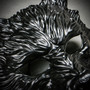 Wild Wolf Animal Full Face Masquerade Mask - Black