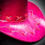 Neon Light Up Cowboy Hat - Pink