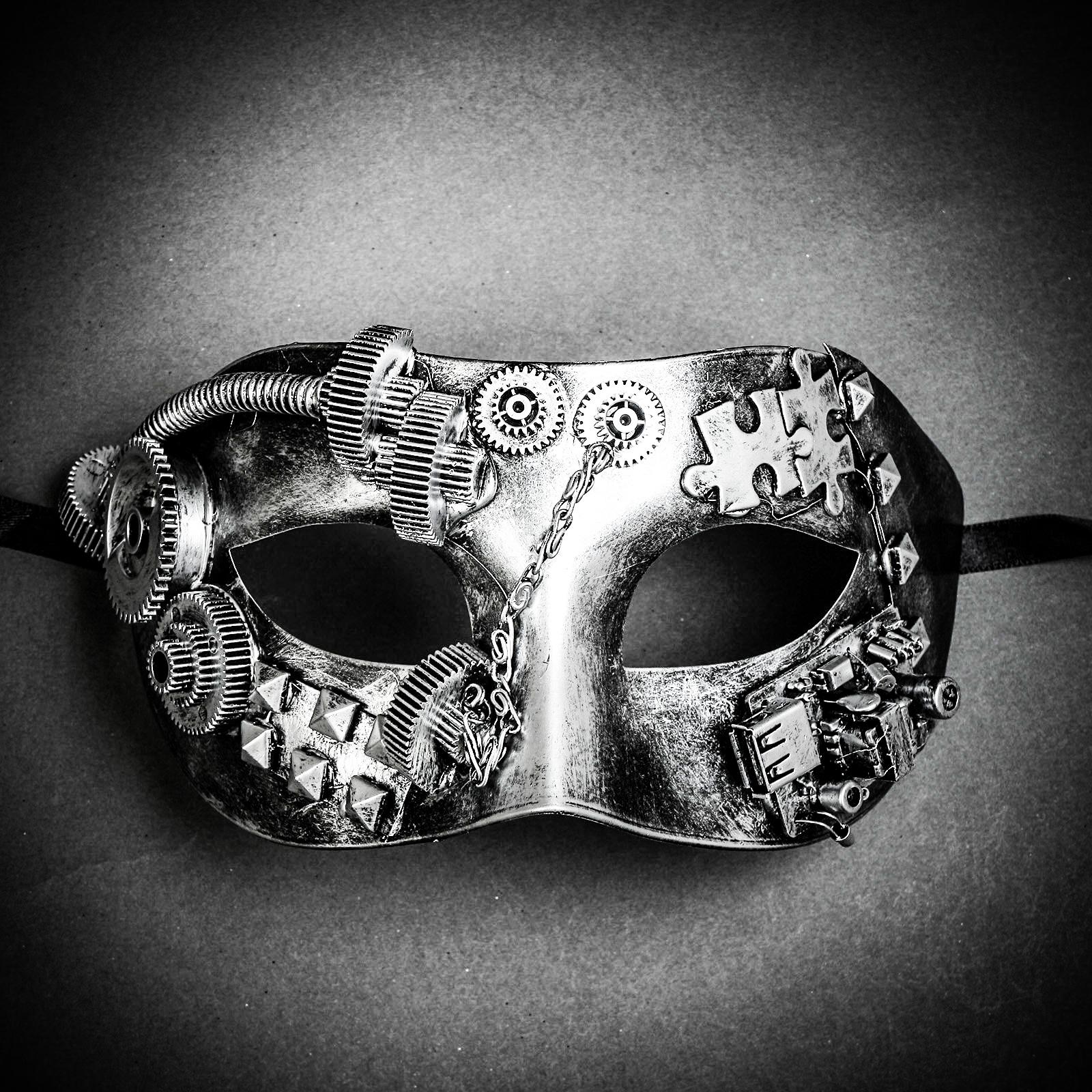 Steampunk Roman Silver