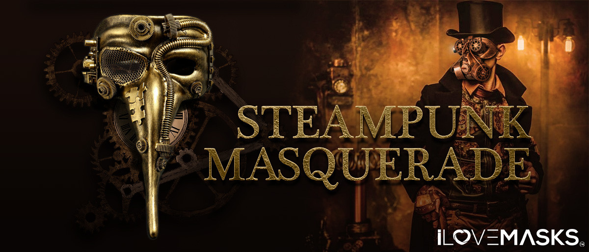 STEAMPUNK MASKS