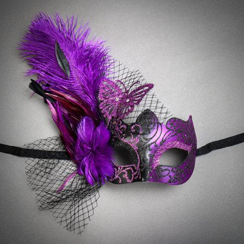 Venetian Fether Masks