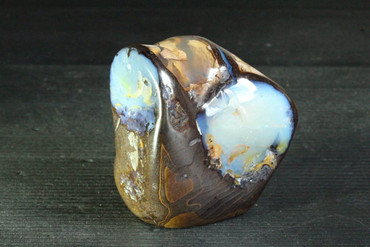 Large Polished Boulder Opal Paperweight