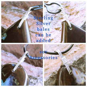 Sterling Silver Bale for Custom Made Necklace