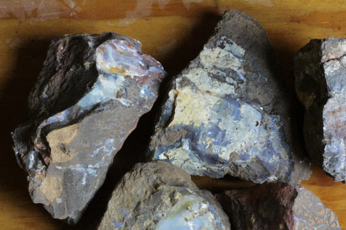 Parcel of 5 Raw Opal Specimens