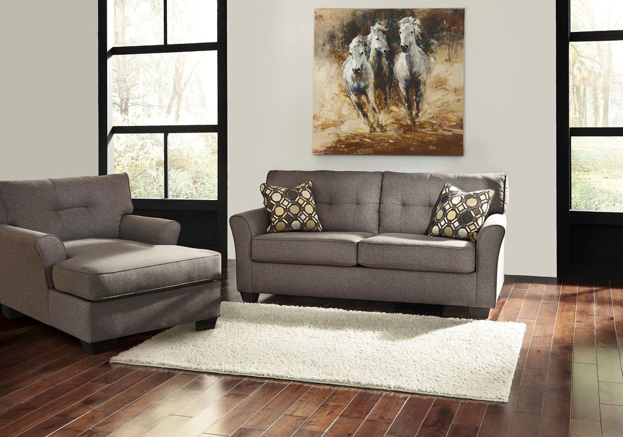 Cool Tibbee Slate Sofa Chaise Home Interior And Landscaping Ologienasavecom