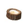 Ginger Patchouli 9 oz. Irregular Tree Bark Pot Candle by Himalayan Candles