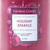 Holiday Sparkle 18 oz. Classic Cylinder Jar Colonial Candle