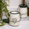 Linen & Ashwood 22 oz. Butter Jar Candle by Milkhouse Candle Creamery