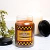 Bourbon Mason Jar Cake 26 oz. Large Jar Candleberry Candle