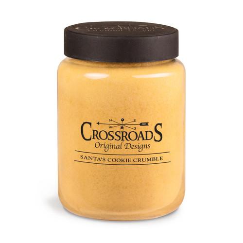 Santa's Cookie Crumble 26 oz. Crossroads Candle