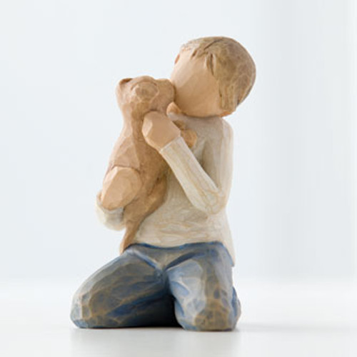 Kindness(boy) Expressions Figurine by Willow Tree